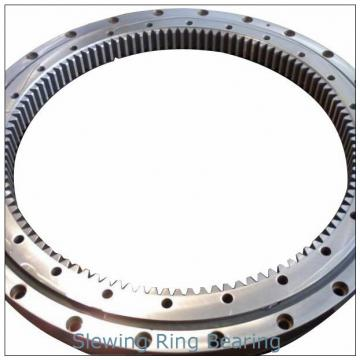 Concrete pump truck crane used single row ball slewing ring bearing