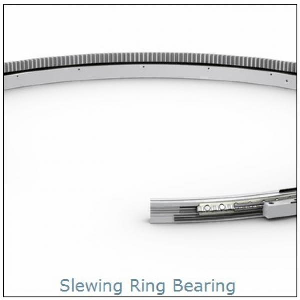 PC200-6(S6D102) excavator internal Hardened gear   slewing ring  bearing Retroceder #1 image