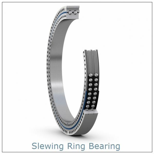 PC220-7(92T) excavator internal Hardened teeth slewing ring  bearing Retroceder #1 image