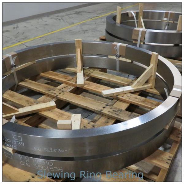 PC200-8 Hardened internal gear and raceway Excavator  slewing ring  bearing Retroceder #1 image