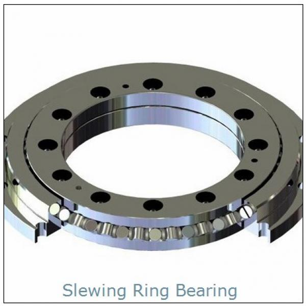 PC220-3 Quenched gear and raceway Excavator  slewing ring  bearing Retroceder #1 image