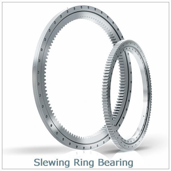 PC300-6  internal excavator Hardened teeth  raceway slewing ring  bearing Retroceder #1 image