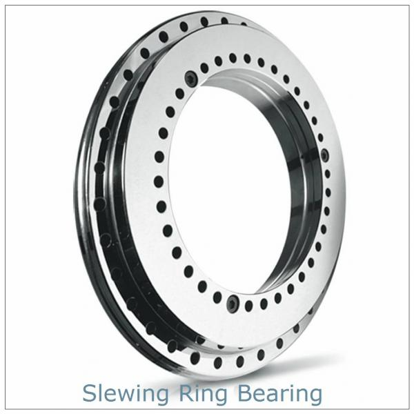 small single row ball  with external gear slewing ring bearing for crane #1 image
